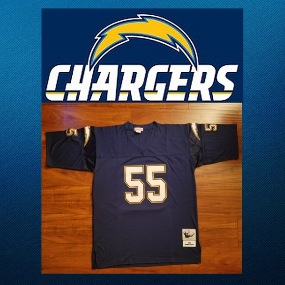 pretty nice f87f1 8d282 Junior Seau S.D./L.A. Chargers Throwback Jersey Boutique